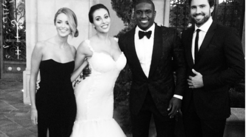 Kim Kardashian's ex- Reggie Bush Marries Lilit Avagyan