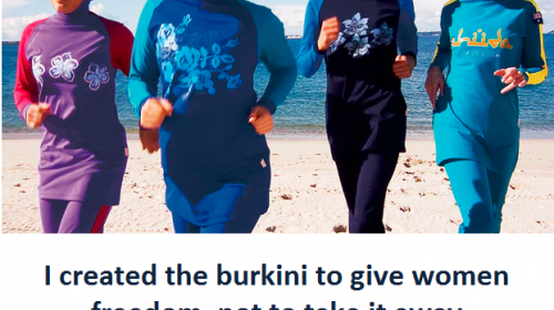BURKINI  is speedily becoming favorite among non-Muslim women as well!