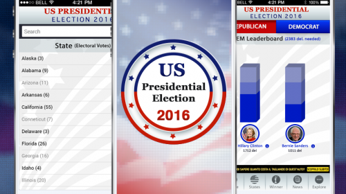 US Presidential Election 2016 – Stay Tuned 24/7