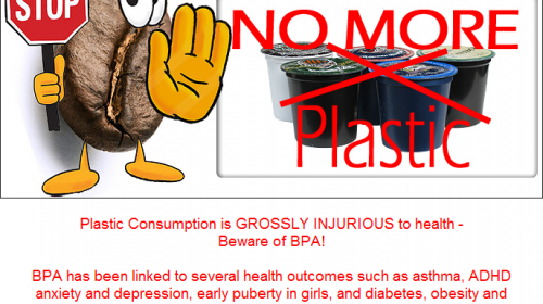 Plastic Consumption is GROSSLY INJURIOUS to health – Beware of BPA!