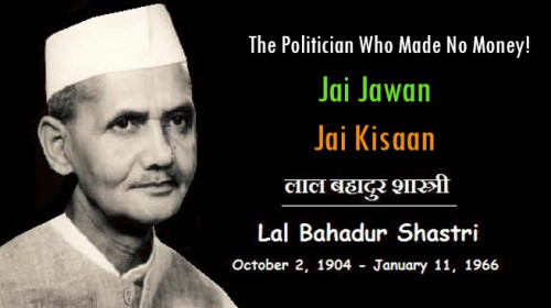 Shri Lal Bahadur Shastri – The Great Son of Mother India
