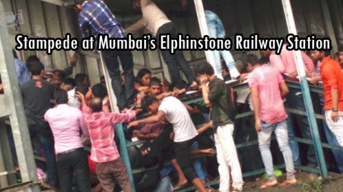 Stampede at Elphinstone Railway station on 29th September' 2017