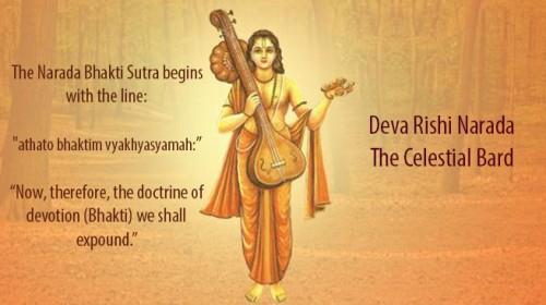 Deva Rishi Narada – The Celestial Bard