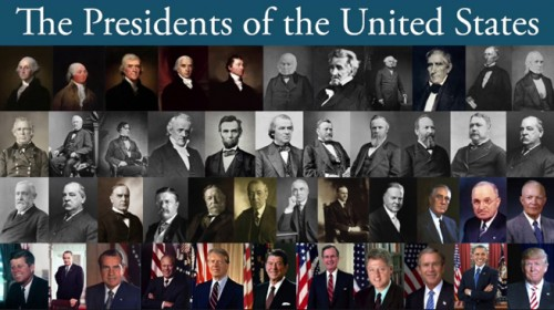 25 % of the Presidents of the United States have no college degrees!