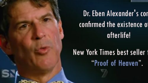 Dr. Eben Alexander's coma confirmed the existence of an afterlife!